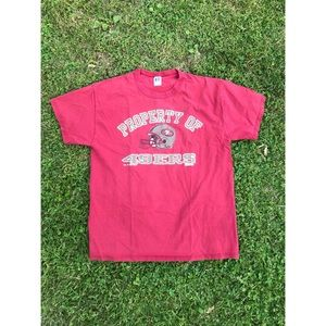 VTG Russell Athletic 1996 San Francisco 49ers Tee